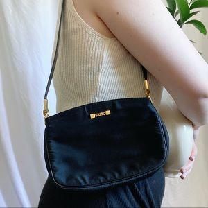 vintage 90's mini black shoulder bag